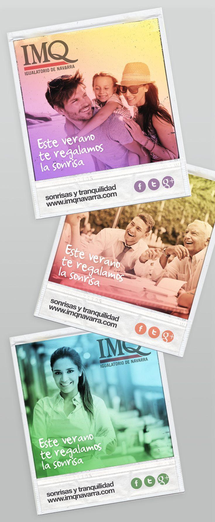 Campaña de verano en Redes Sociales y Web para IMQ Navarra