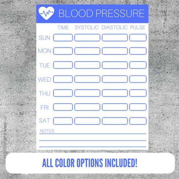 picture regarding Printable Blood Pressure Tracker called Printable Blood Anxiety Tracker, Blood Worry Checking