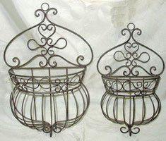 jardim metal pendurado cesta de artesanato-Cestas de pendurar-ID do produto:900002850590-portuguese.alibaba.com