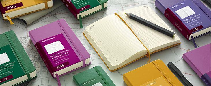 2015 Moleskine Planners/Diaries