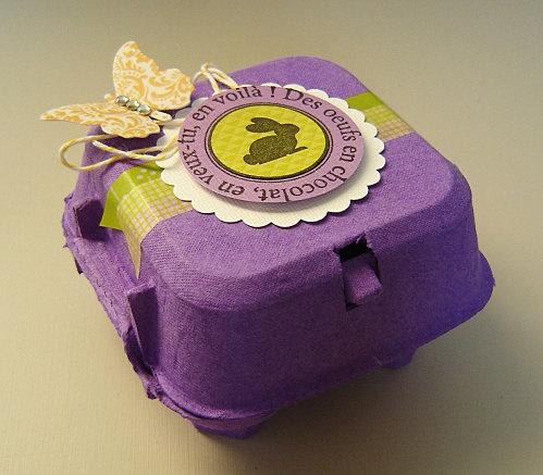 Pacco regalo scatola uova - Gift box pack eggs