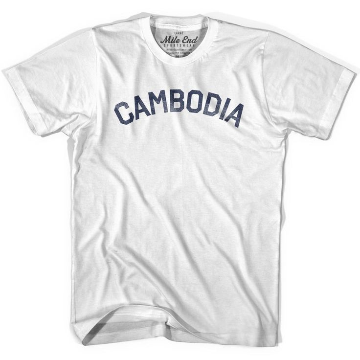Cambodia City Vintage T-shirt