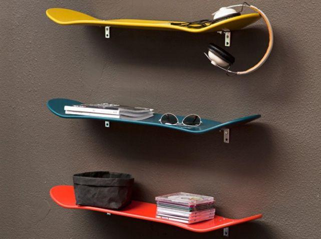 ©Serendipity #etagere #skate #upcycling