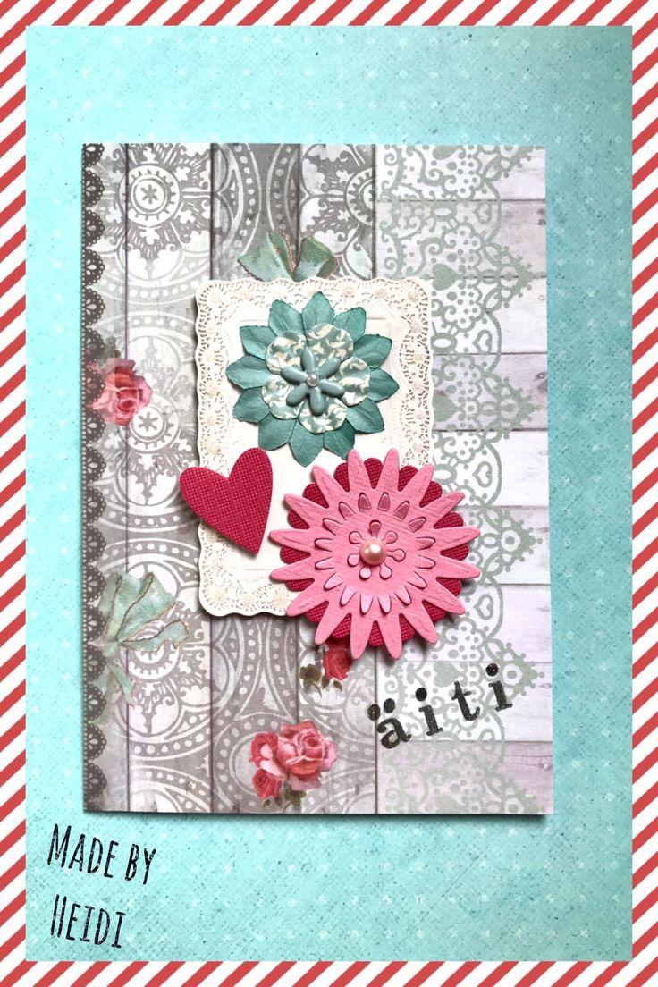 Äitienpäiväkortti / Mother's Day Card DIY