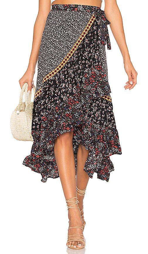 4c3c9b2ed8 Free People Esmeralda Printed Skirt View 1 of 4 | LEONARD | Printed ...