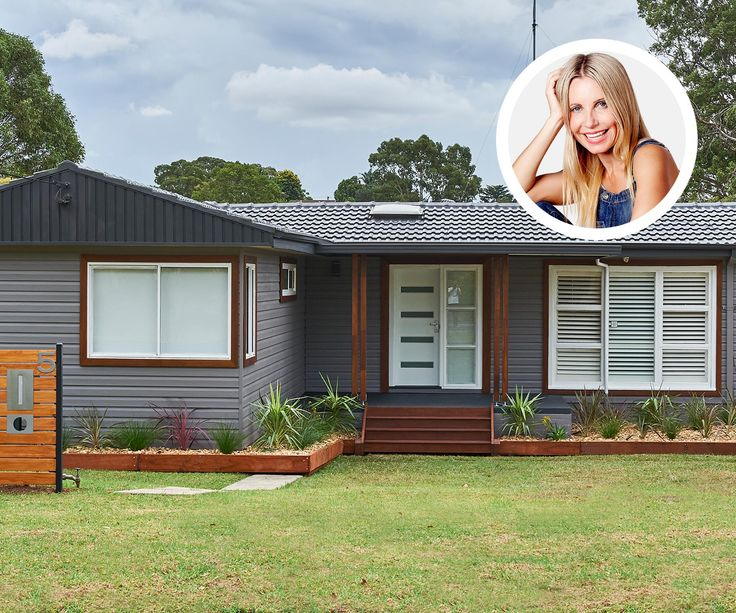 Cherie Barber gives a dated suburban house fabulous new street appeal.