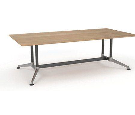 OLG Modulus Boardroom Table Beech – Dunn Furniture