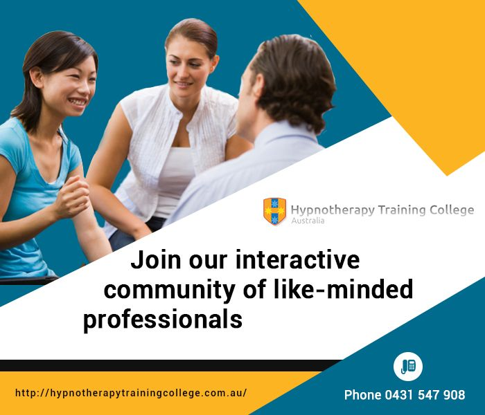 If hypnotherapy is the subject in which you want to do your specialisation, then join hypnosis courses in Sydney offered by Hypnotherapy Training College. We are a recognized, affiliated and known institute to teach and train pupils who want to be professional hypnotherapists. Learn everything about hypnosis at a reasonable rate from us!
