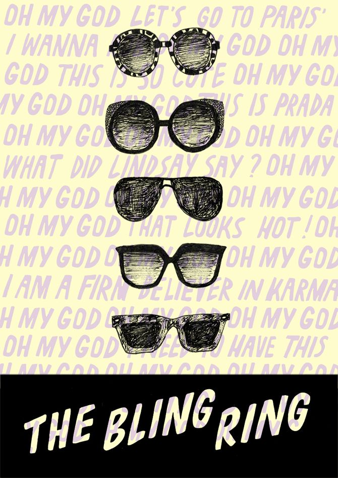 Made by Marianne / Alternative Movieposter / The Bling Ring / Film / Poster / FOR SALE