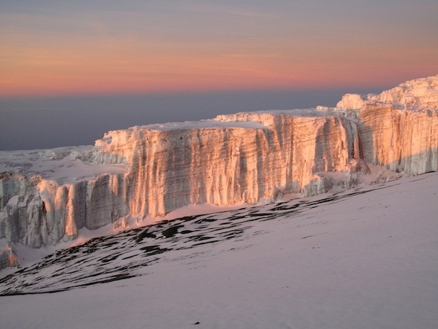 Kilimajaro Glacier summit... way to go :)