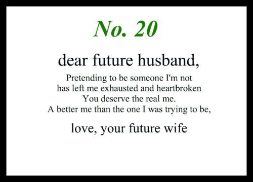 17 Best images about Love notes to my future husband on ... Dear Future Boyfriend Letters
