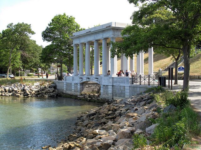 Pilgrim Memorial State Park In Plymouth, Massachusetts