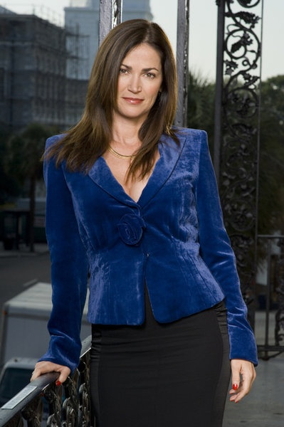 Kim Delaney in Army Wives.  Miss you already Claudia Joy!