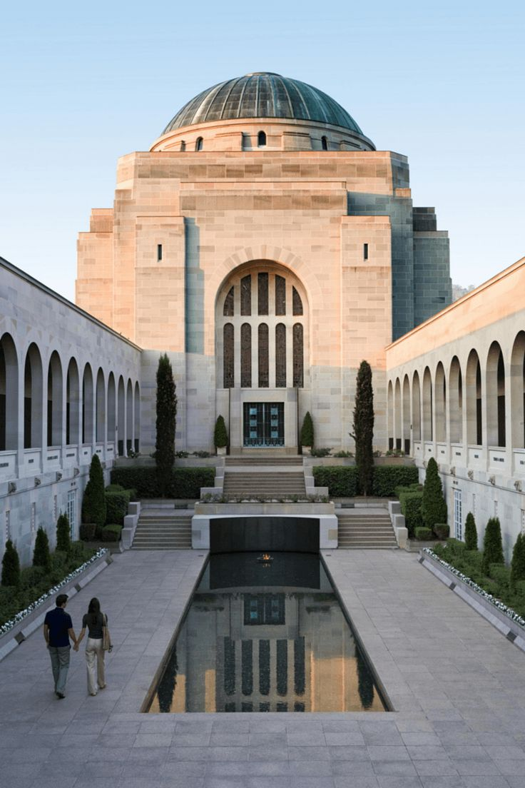 National War Memorial - Canberra, Australia's Capital city, home to the Government...