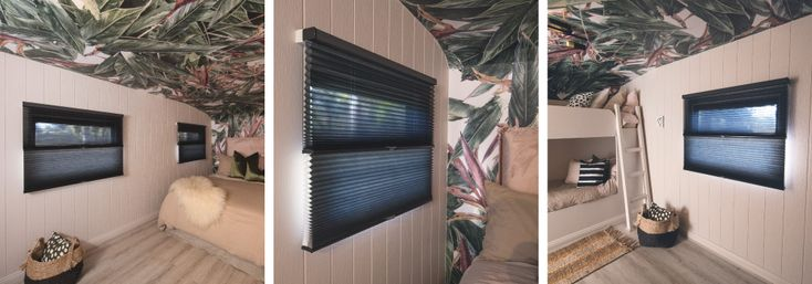 Bedroom 2, Luxaflex Duette Duo-Lite Shades - Highly versatile for complete light and/or privacy control!