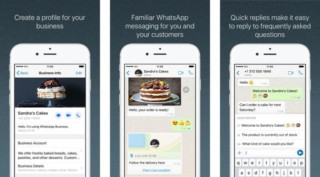 Whatsapp Business App Released For Iphone App Iphone