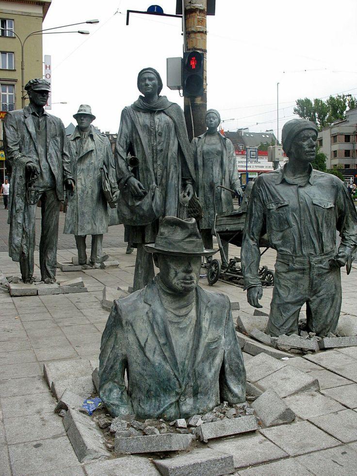 The Anonymous Pedestrians, Wrocław, Poland