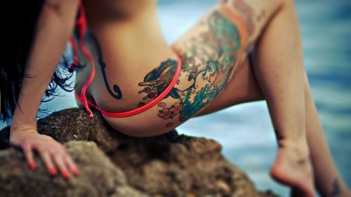 If You Like Tattoos, Get in Here (36 pics)