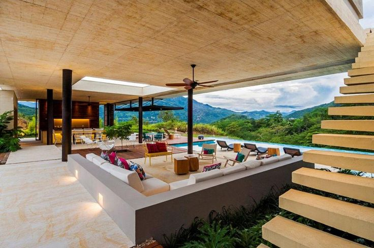 http://taizh.com/wp-content/uploads/2014/11/Completely-open-plan-living-room-design-mountain-house-with-elegant-sofa-set-also-pool-in-backyard-ideas-and-wooden-stairs-in-the-near-sofa.jpg