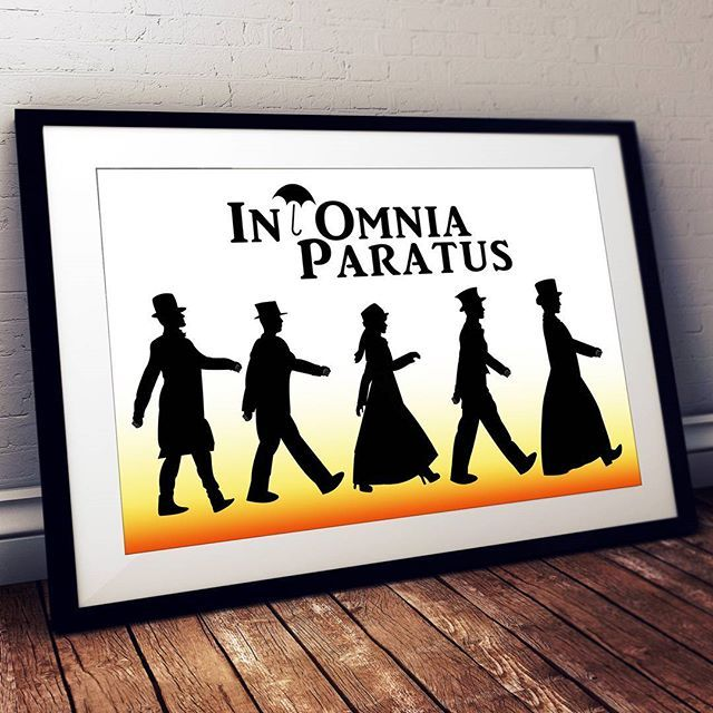 IT'S HERE! Ever since watching the #gilmoregirls revival episodes (at 3am with my mom!), I had a vision of creating a silhouette image of the Life and Death Brigade walking and partying around Stars Hollow. Go check it out in our shop (link is at the top of our profile). #inomniaparatus !  #gilmoregirlsrevival #lifeanddeathbrigade #rorygilmore #starshollow #withalittlehelpfrommyfriends #thebeatles #igetbywithalittlehelpfrommyfriends #likeforlike #like #potd #picoftheday #qotd #quoteoftheday…
