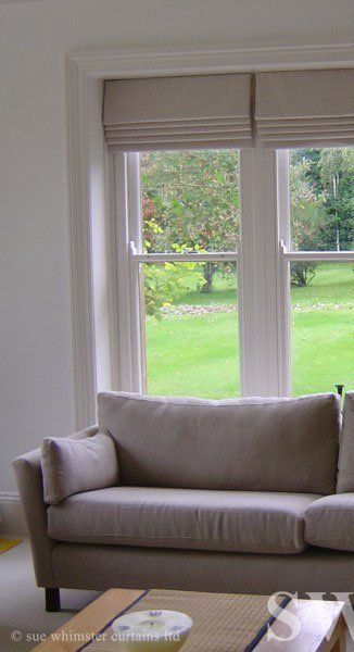 Bedroom Inspiration  Roman blinds  mounted inside the frame. The 25  best Roman blinds ideas on Pinterest   Curtains  Shearing
