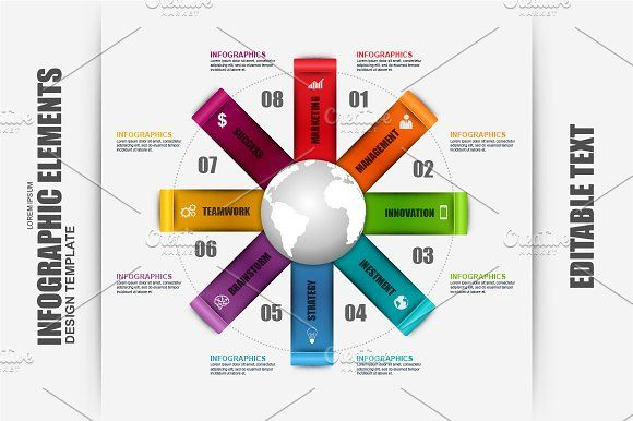 Infographic Elements by alexdndz on @creativemarket