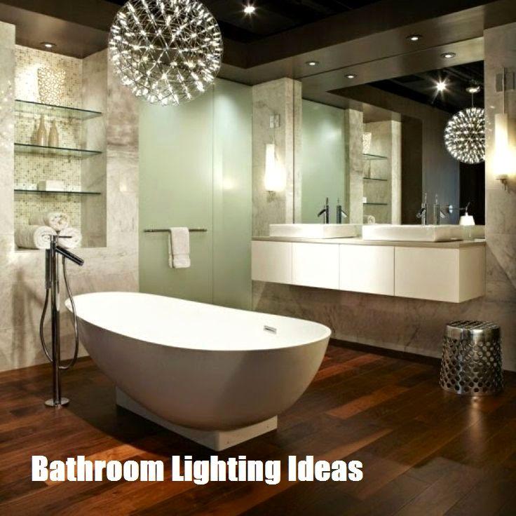 Ideen für die Badezimmerbeleuchtung, die Sie berücksichtigen möchten