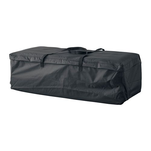 "$19.99, Length: 45 5/8 "", Height: 13 3/4 "", Width: 19 1/4 "", TOSTERÖ Storage bag for pads and cushions IKEA"