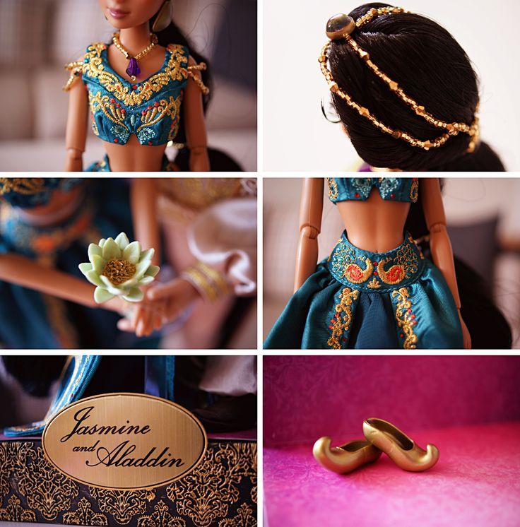 Disney Fairytale Designer Collection Jasmine & Aladdin - Disnerd dreams