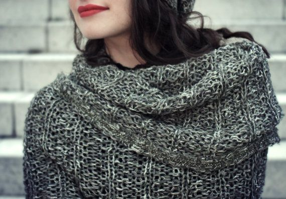 snood scarf / snood cowl / spring finds / by BonniesCinematheque