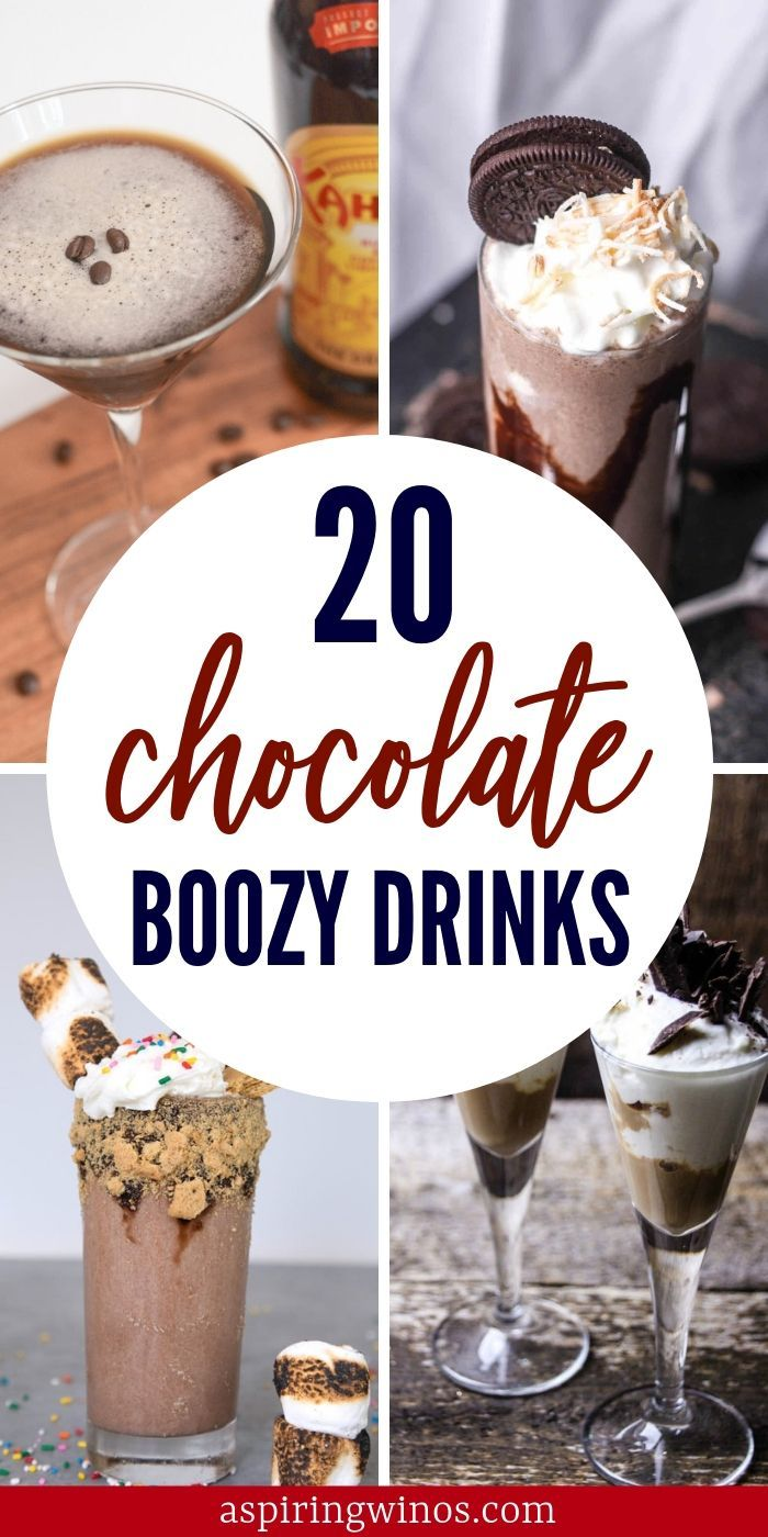 Creamy Delicious Chocolate Cocktail Recipes You Definitely