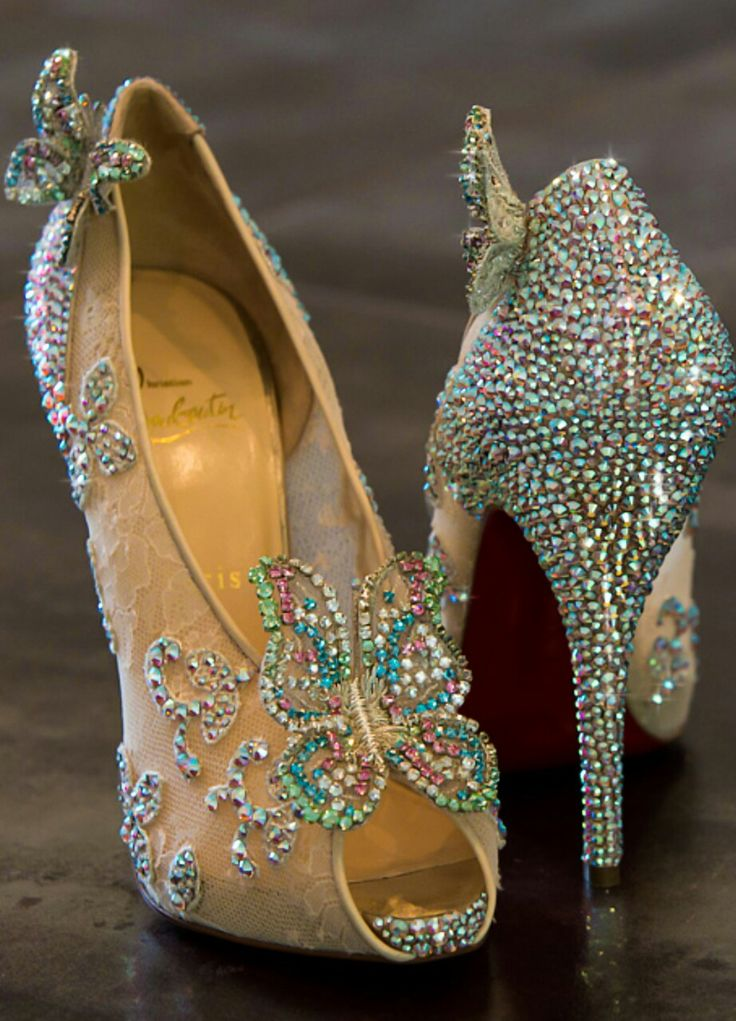 christian louboutin cinderella shoe