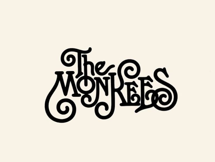 The Monkees Logo Designer: Herb Lubalin                                                                                                                                                                                 More