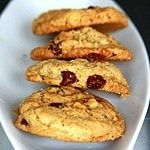 Oats & Brown Rice Flour Chocolate Chip Cookies Recipe | Eggless Cooking