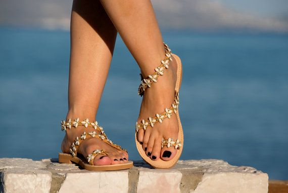 Sandalias+de+novia+sandalias+decoradas+por+PenelopesTemptations