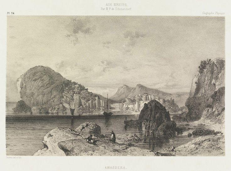 Amasra; Amassera; Asie Mineure-1753 Amasra, Turkey