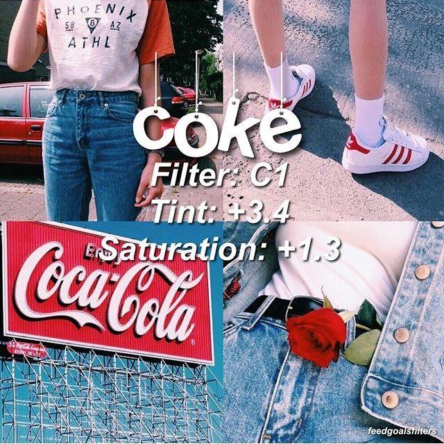 Coke filtro