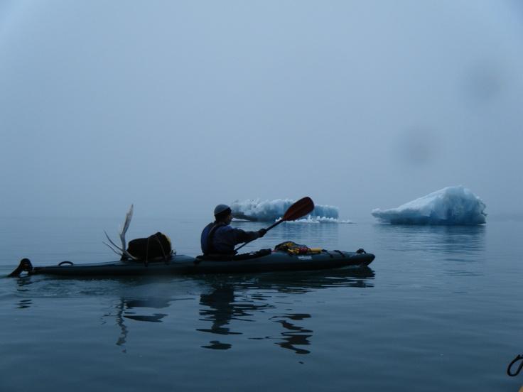 Niebla en Groenlandia