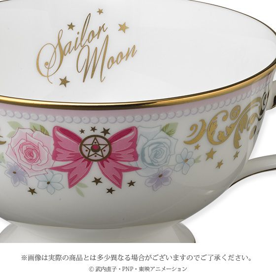 Bandai Sailor Moon Noritake Collaboration Tea Cup Saucer Set Japanese Anime | eBay