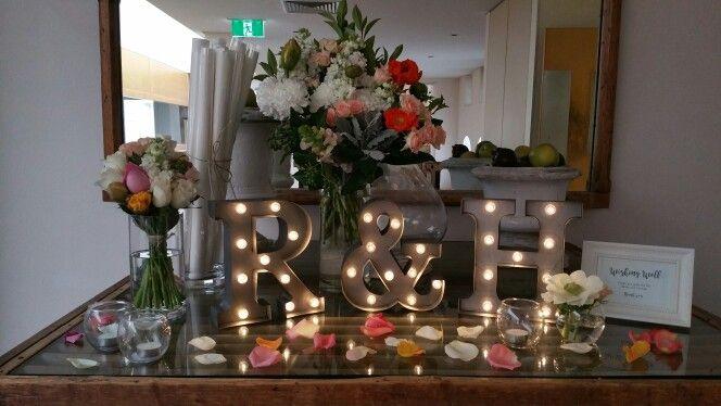 Wedding display table
