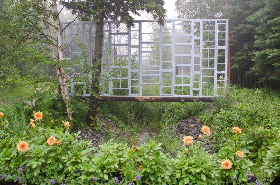 A Ditch With A View - 2011 - Photo JM-1271  © 2011, Louise Tanguay, Jardins de Métis/Reford Gardens