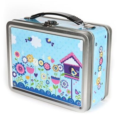 Personalized Lunch Box for girls In The Garden