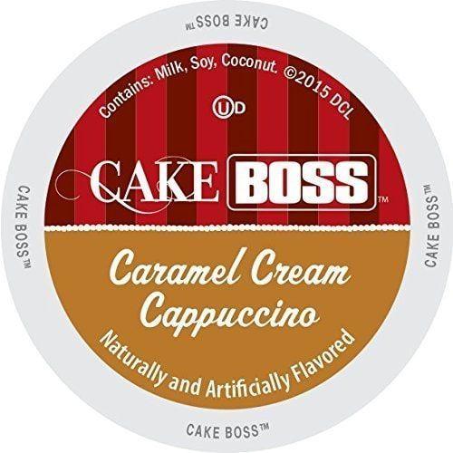 Cake Boss Indulgent Beverages Caramel Cream Cappuccino