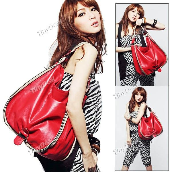 Stylish PU Leather Shoulder Bag Hand Bag Tote Bag for Girl Lady Women  NBG-60288