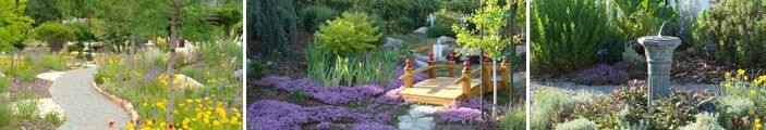Sandy City: Sego Lily Gardens / Water Wise Landscapes