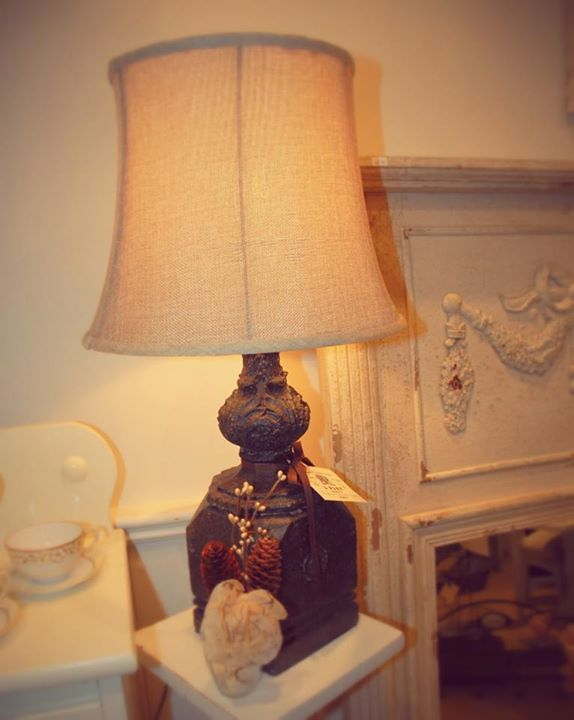 Looking for elegant accents for your home? We have lamps, chairs, desks and other antique furniture on sale! #lamps