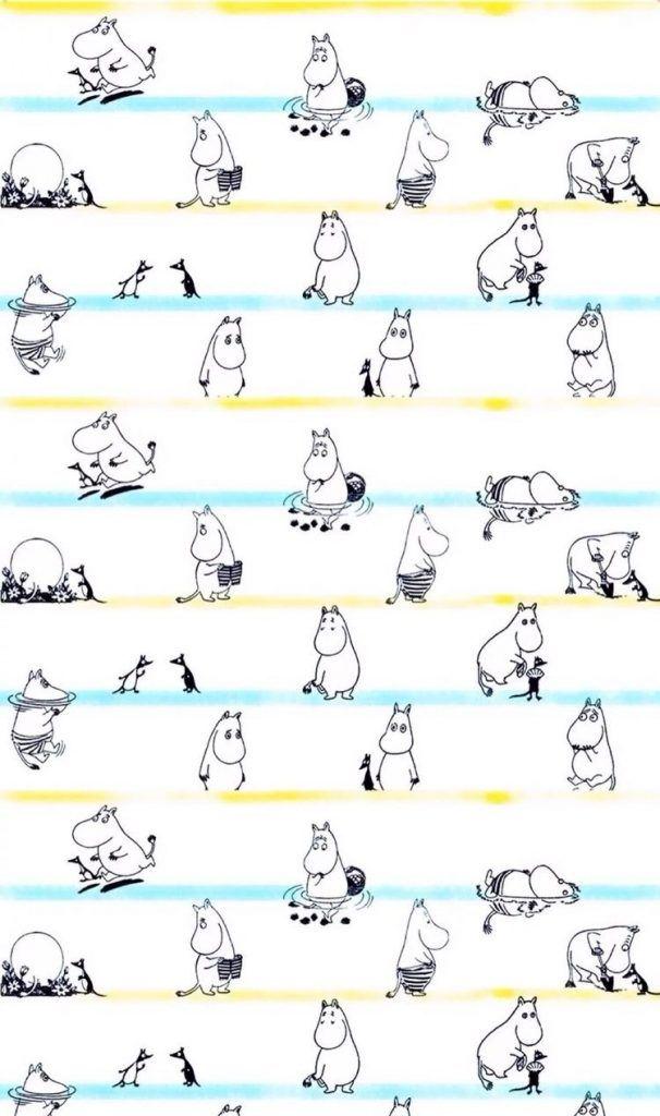 ムーミン/Moomin[17]iPhone壁紙 iPhone 5/5S 6/6S PLUS SE Wallpaper Background