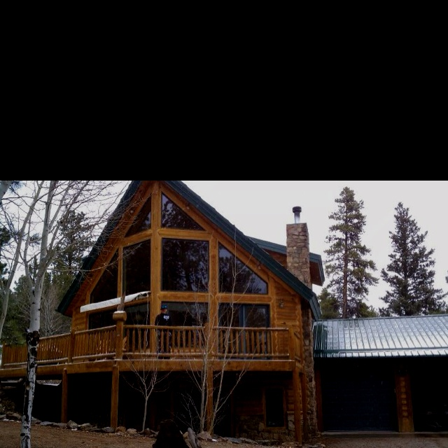 Log Cabin In The Mountains Buena Vista Colorado Saw This