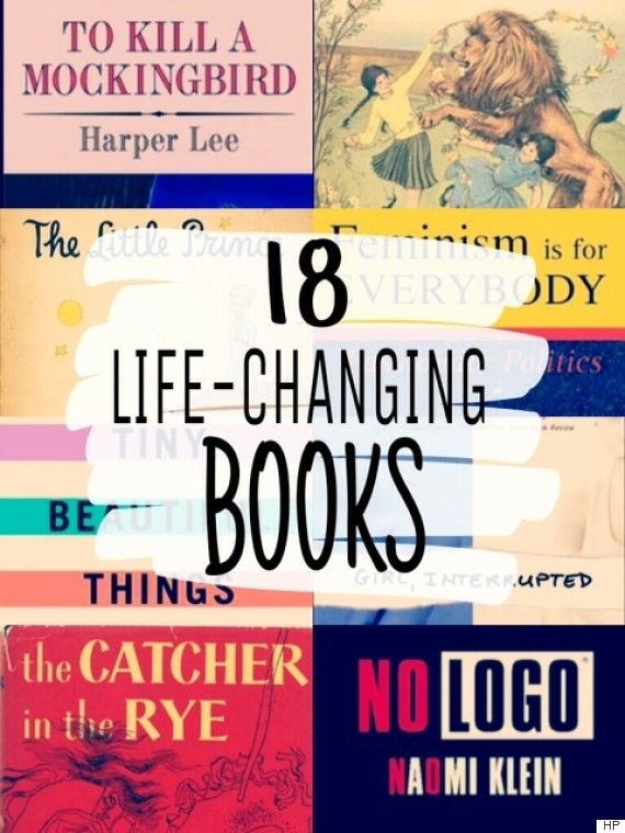 18 life-changing books we all need on our reading lists