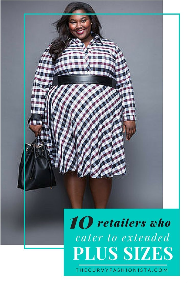 Looking for a few great retailers who cater to sizes 24+? Check out this roundup of plus size designers and retailers who do! #TCFStyle #plussize #plussizefashion